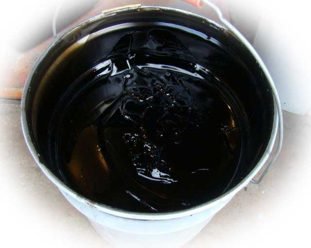 Подготовка состава для гидроизоляции фундамента битумом