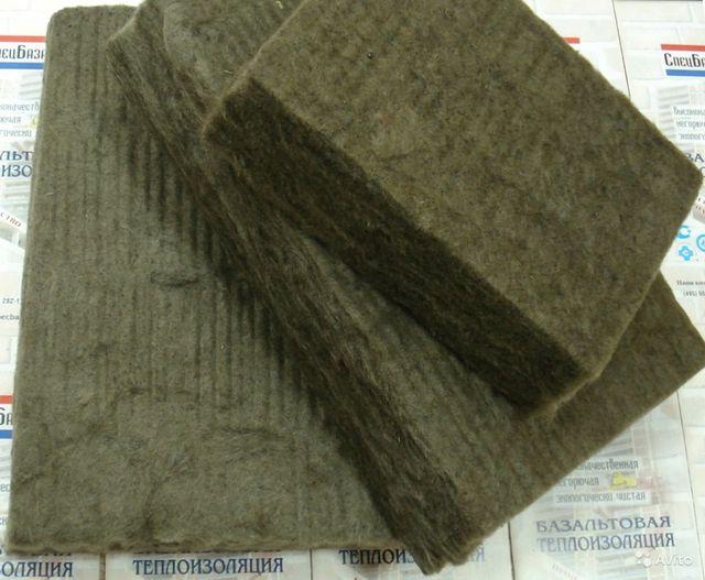 Базальтовое волокно для теплоизоляции трубопроводов